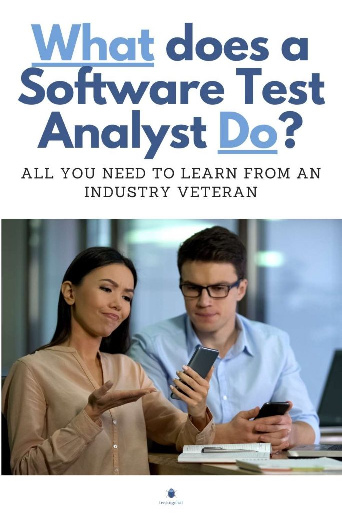 What Does a Software Test Analyst Do Pinterest Pin Image